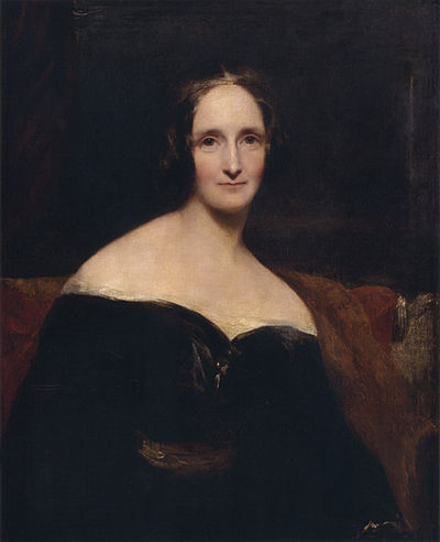 PHOTO - mary shelley painting